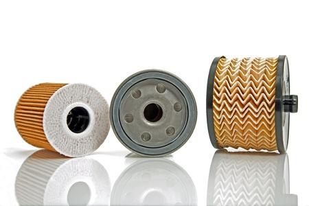papel filtro: tres diferentes filtros