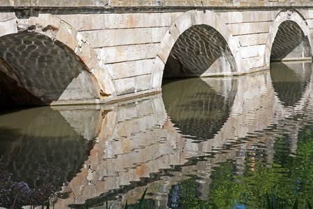 accordance: stone bridge build in accordance to the ancient art