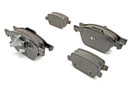 brake pads set for one car photo