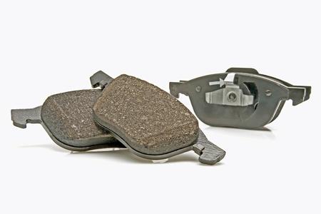 front wheel brake pads set Stock Photo - 9662061