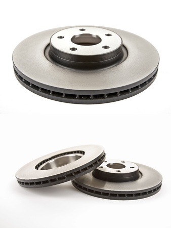 brake discs and their two images Stock Photo - 10225188
