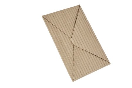 corrugated cardboard envelope Stock Photo - 10689328