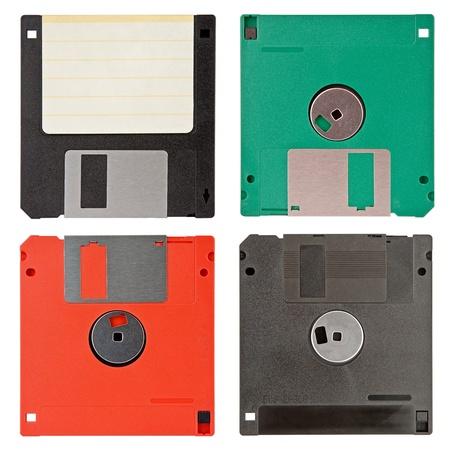 four floppy discs Stock Photo - 10835788