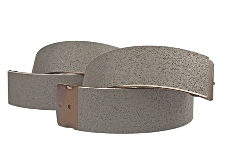 friction: brake shoe Stock Photo