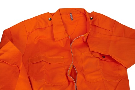 coverall: zoom in on the new orange overalls