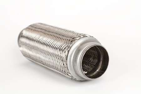 flexible connection to the exhaust system of a passenger car photo