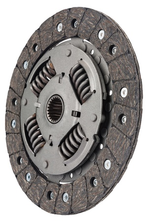 friction: clutch plate, together with the plate lining is a set of friction