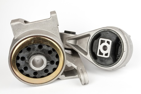 vibrations: engine suspension reduces vibrations between the car body and the engine