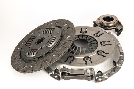 the photograph shows the three basic elements forming the clutch