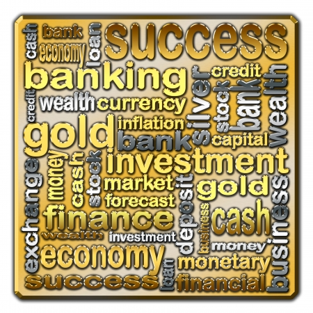 describe: Words that describe issues related to finance and banking