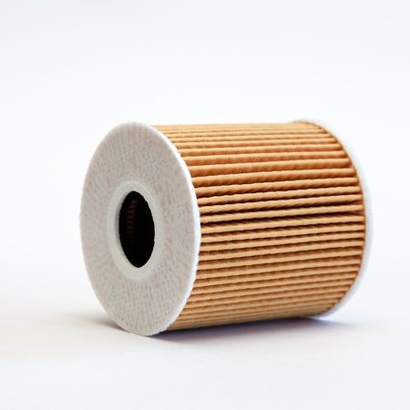 a filter element for cleaning of oil in the combustion engine