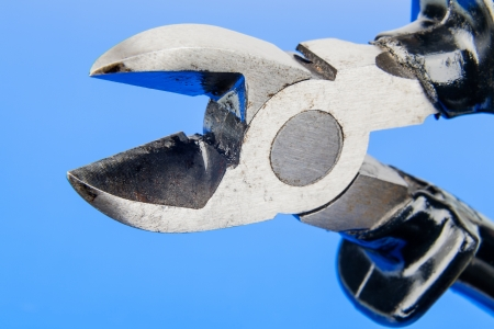 wire cutters: Wire cutters that is basic equipment every electrician