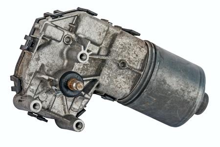 ruitenwisser: Ruitenwissermotor verbonden met het aandrijfmechanisme is versleten