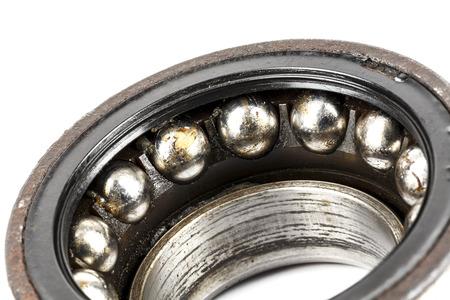 Old and badly worn bearing