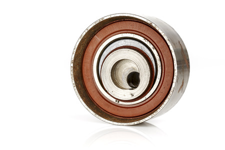 tensor: Worn tensioner, broken and unusable for further use