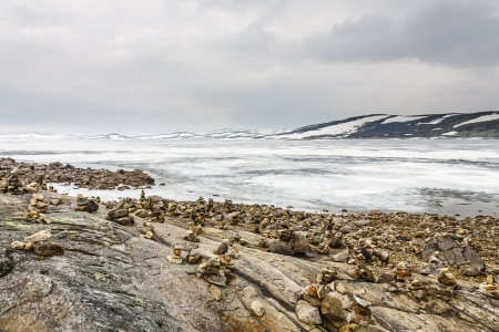 vastness: Vastness of the Arctic landscape at uninhabited areas in Norway