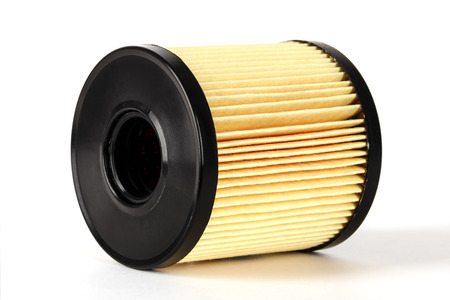 Oil filter element used for cleaning of oil in the combustion engine photo