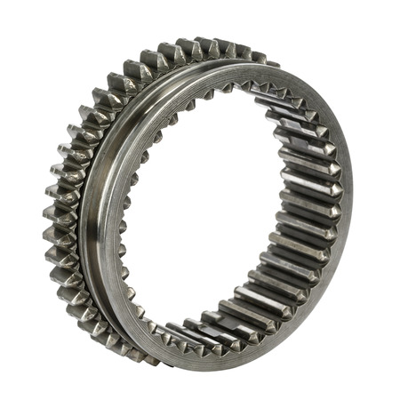 Component of the gear box, sliding cog wheel Stock Photo