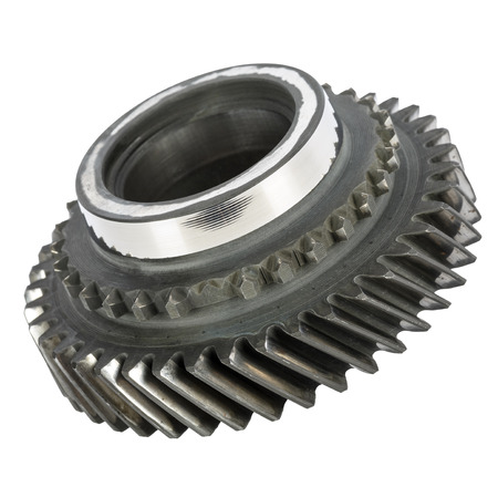 worn out: Worn out cog wheel removed from the main shaft of gearbox