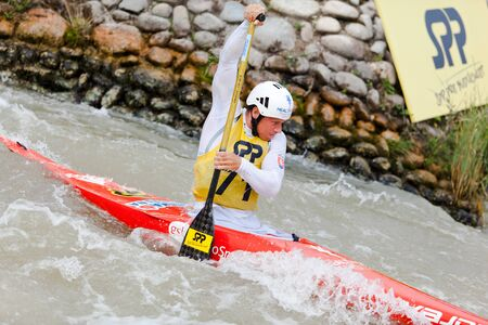 Bratislava - Cunovo, Slovakia - August 13-15 2010 : ECA European Canoe Slalom Championships 2010 - single canoe Michal Martikan Sajtókép