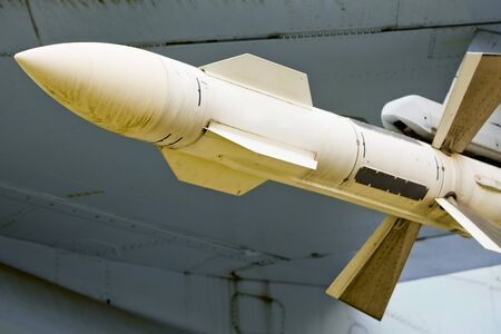 Air to air missile under planes wing, AAM