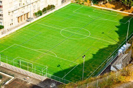 Training football stadium