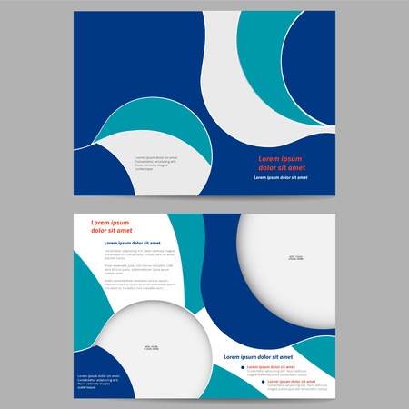 Abstract brochure template for your business Vector