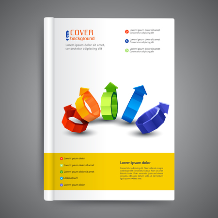 cover: Abstract modern template cover books, brochures, annual reports, business background, infographic