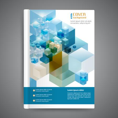 Astratto moderno coprire libri modello, opuscoli, relazioni annuali, le imprese di sfondo Vettoriali