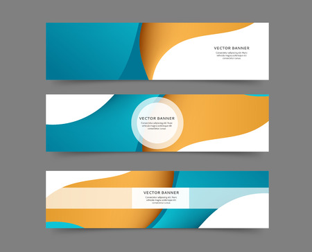 Set of web banner templates for your site