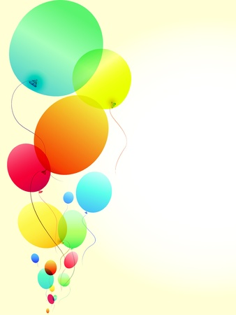 colored balloons: Colored Balloons
