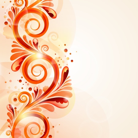 Beautiful abstract background  Illustration
