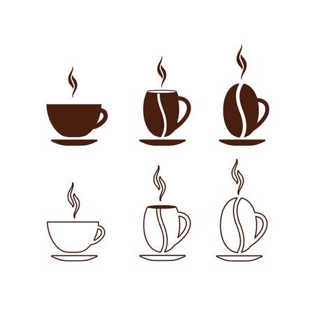 コーヒーカップ: コンセプト コーヒー カップ ベクトル