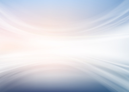white abstract: Abstract Background. White Waves at Evening Glow