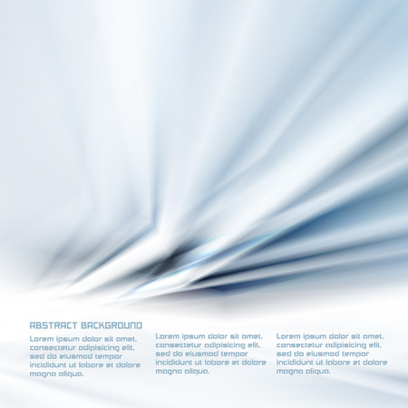 phosphorescence: Shiny Blue Abstract Vector Background for Flyers, Cards, Web Pages etc.