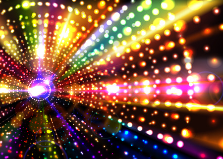 nightclub: Abstract Party Background. Illustration