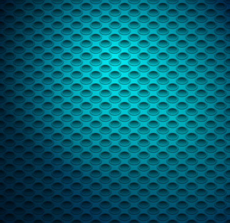 ovals: Seamless Background with 3D Ovals . Vector background.