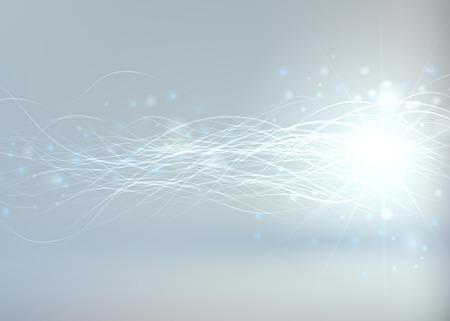 white magic: Bright Shiny Abstract Background