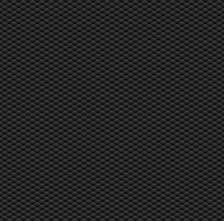 modern background: Dark Seamless Pattern with Hexagons. Vector Texture.