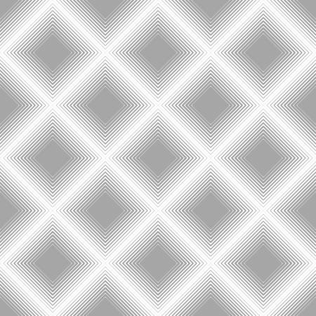 Square Vector seamless pattern. Modern stylish texture.