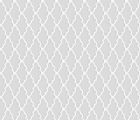 Seamless pattern with Shadow Effect. Vector background 向量圖像