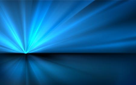 Abstracte Blauwe Vector Achtergrond Vector Illustratie