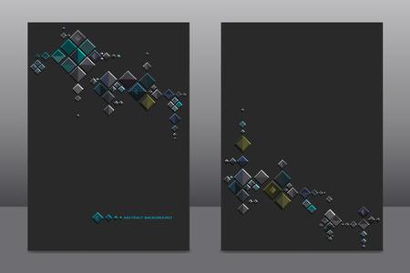 Abstract Background. Usefull for presentation, flyers, cards Ilustração