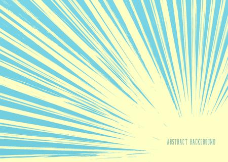 Vintage Background. Retro Sun Rays