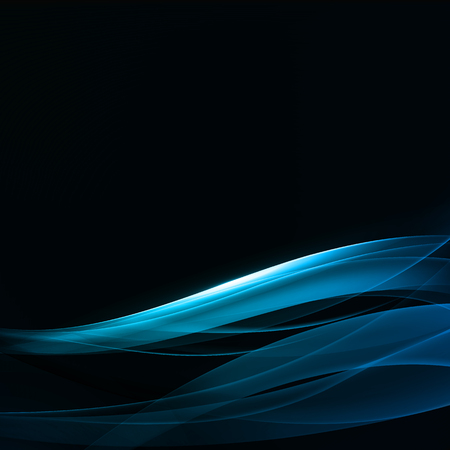 Abstract Background. Bright Transparent Waves on the Black Background