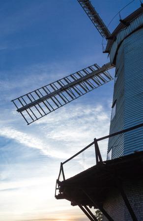 Upminster Windmill at Sunset, Essex, England