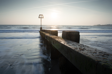 dorset: Dawn on the Dorset Coast, at Swanage