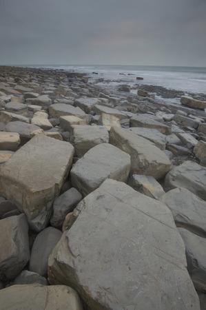 dorset: Rocks at Kimmeridge Bay, Dorset