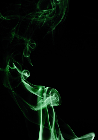 cellos: Capturing the smoke from an incense stick and changing the colours