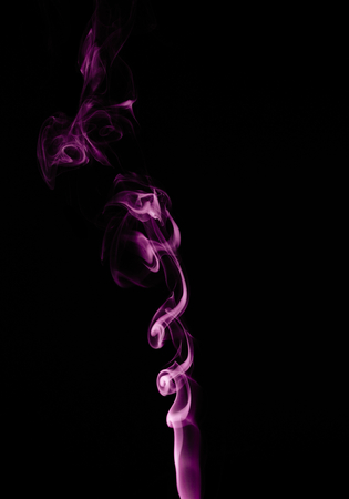 scrool: Capturing the smoke from an incense stick and changing the colours